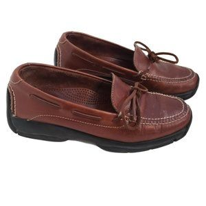 Cole Haan Honey Brown Leather Shoes Size 9M